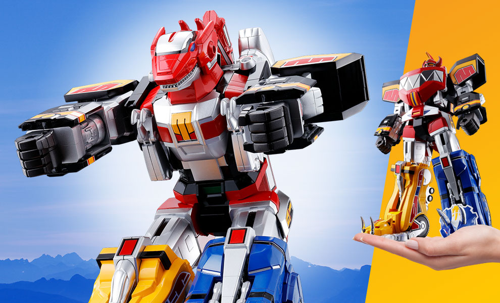 Gallery Feature Image of GX-72 Megazord Collectible Figure - Click to open image gallery