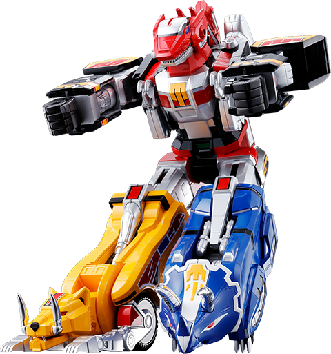 Bandai GX-72 Megazord Collectible Figure