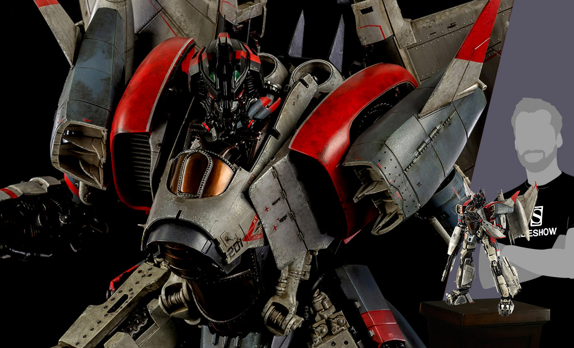 Gallery Feature Image of Blitzwing Premium Scale Collectible Figure - Click to open image gallery