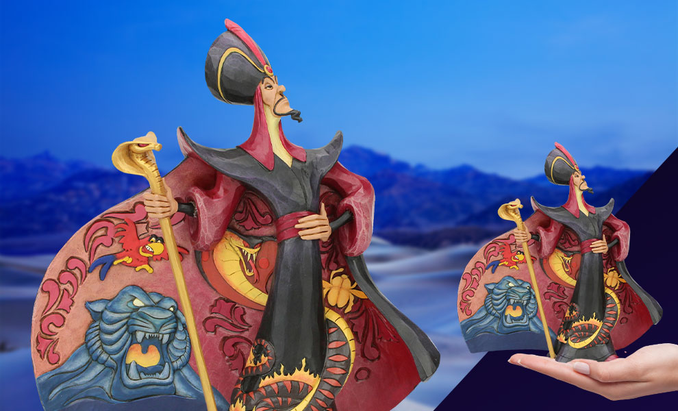 Gallery Feature Image of Jafar from Aladdin Figurine - Click to open image gallery