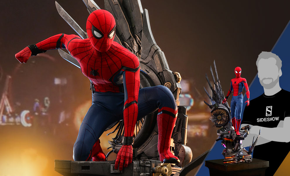 Gallery Feature Image of Spider-Man (Deluxe Version) Quarter Scale Figure - Click to open image gallery