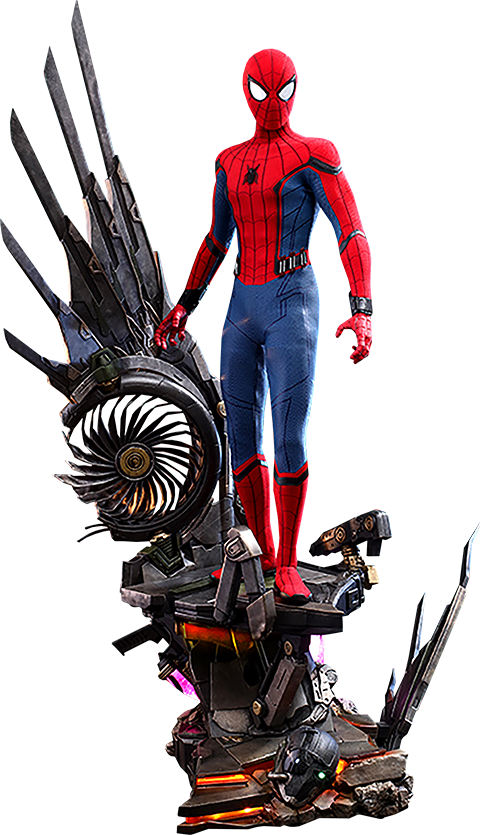 Hot Toys Spider-Man (Deluxe Version) Quarter Scale Figure