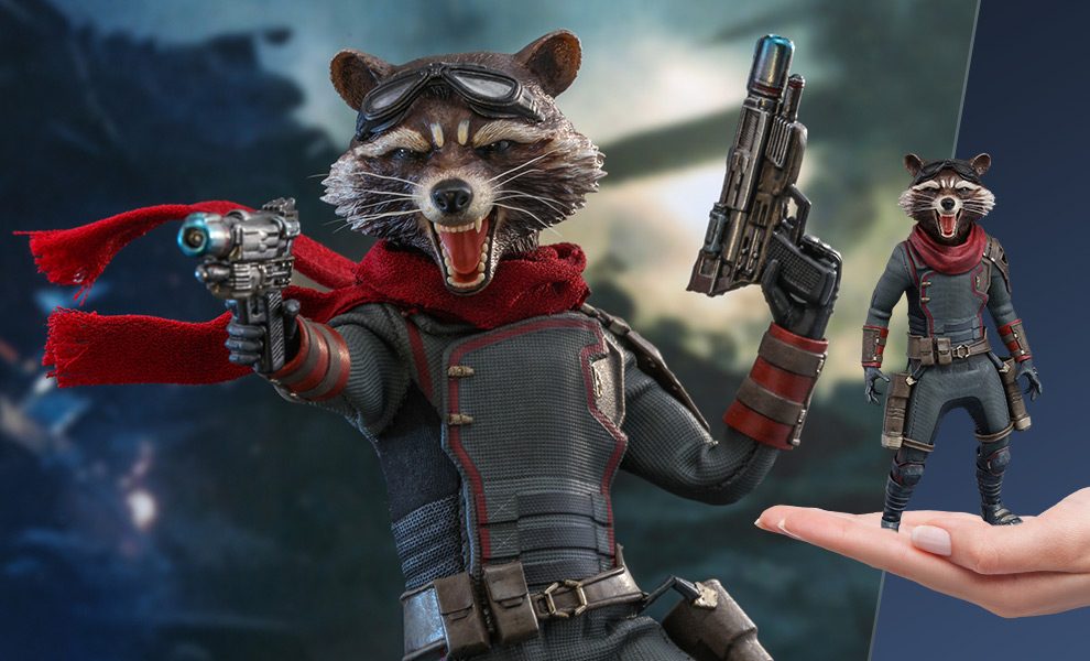 Gallery Feature Image of Rocket Sixth Scale Figure - Click to open image gallery
