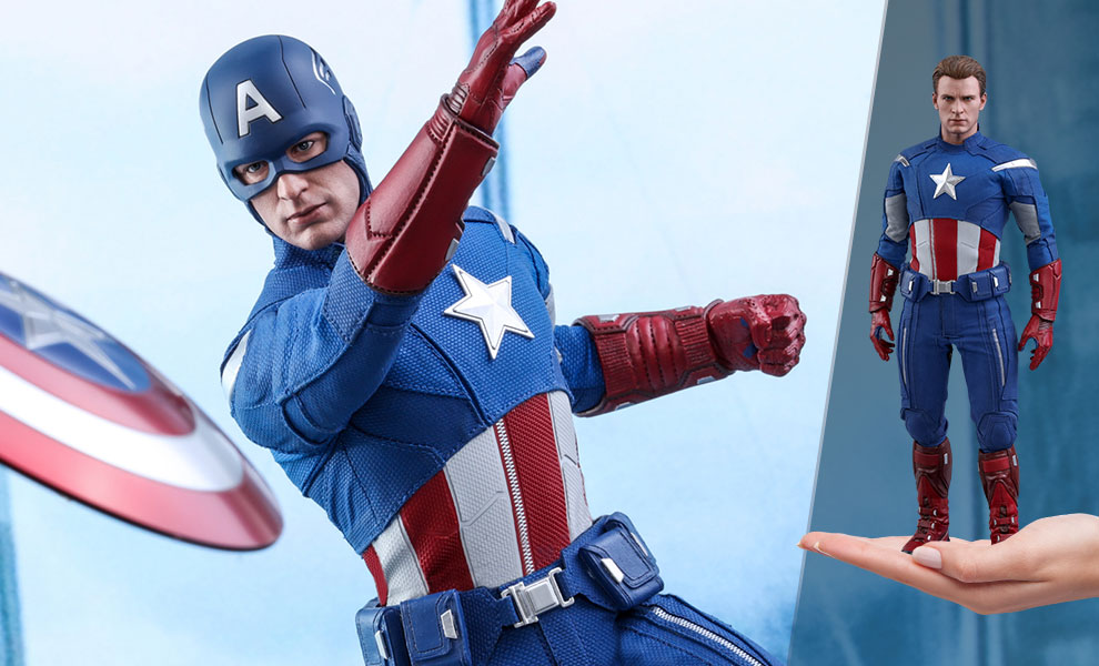 Gallery Feature Image of Captain America (2012 Version) Sixth Scale Figure - Click to open image gallery