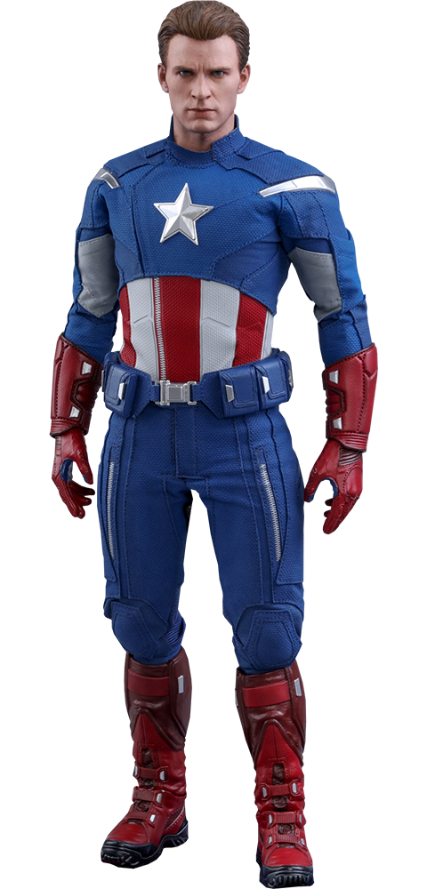 Hot Toys Captain America (2012 Version) Sixth Scale Figure