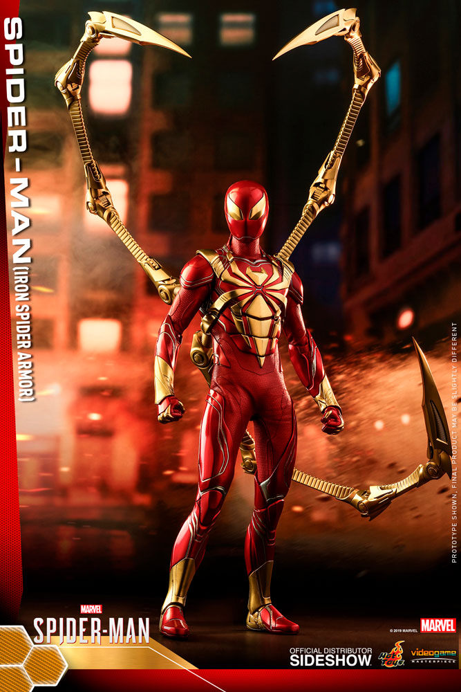 Spider Man Iron Spider Armor Sixth Scale Collectible