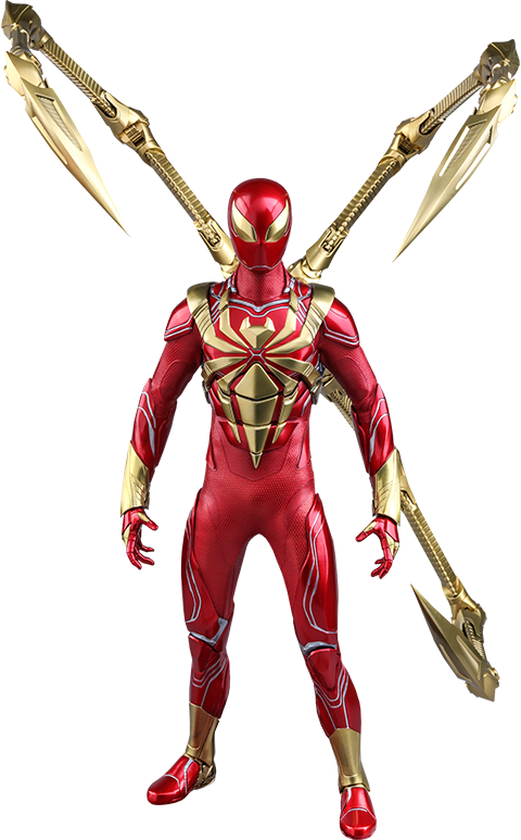 Hot Toys Spider-Man (Iron Spider Armor) Sixth Scale Figure