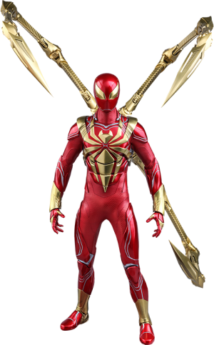 Spider-Man (Iron Spider Armor) Sixth Scale Figure