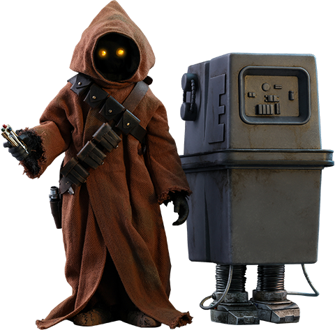 Hot Toys Jawa & EG-6 Power Droid Sixth Scale Figure Set