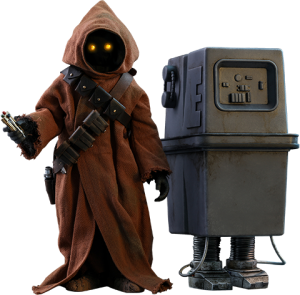 Jawa & EG-6 Power Droid Sixth Scale Figure Set
