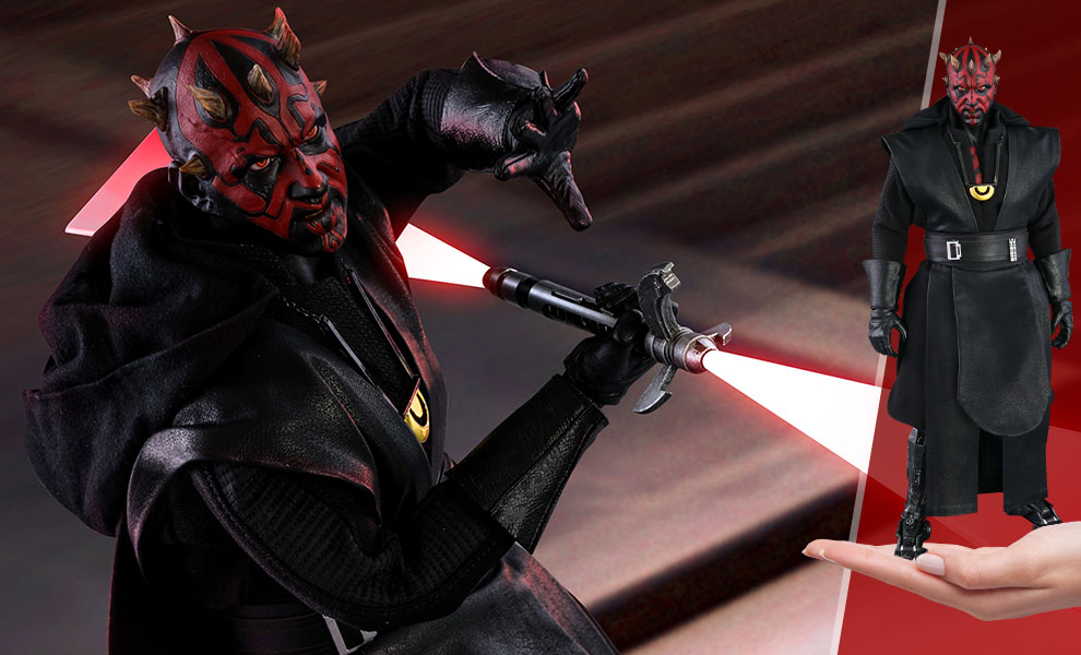 Gallery Feature Image of Darth Maul Sixth Scale Figure - Click to open image gallery