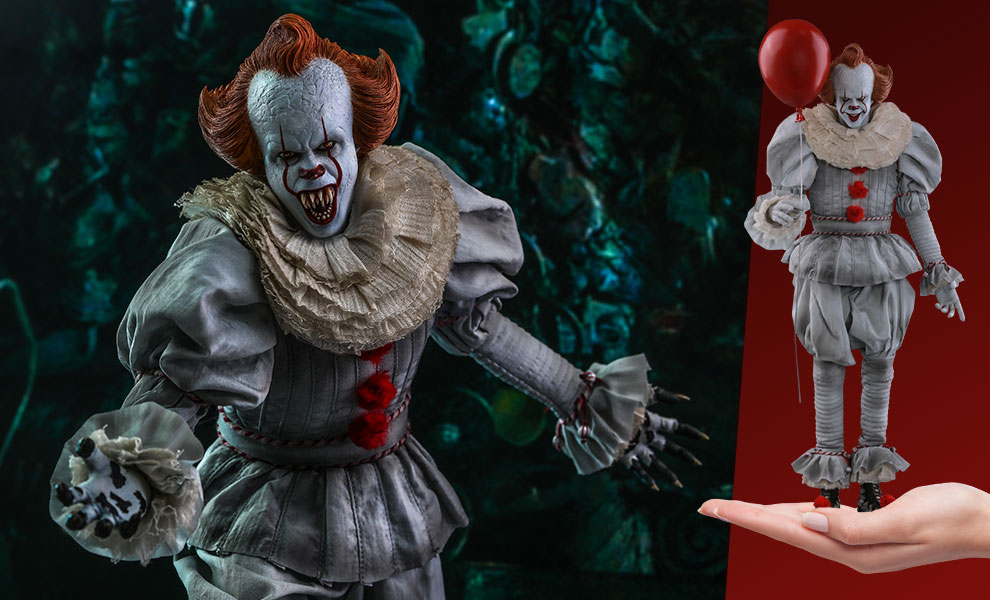 Gallery Feature Image of Pennywise Sixth Scale Figure - Click to open image gallery