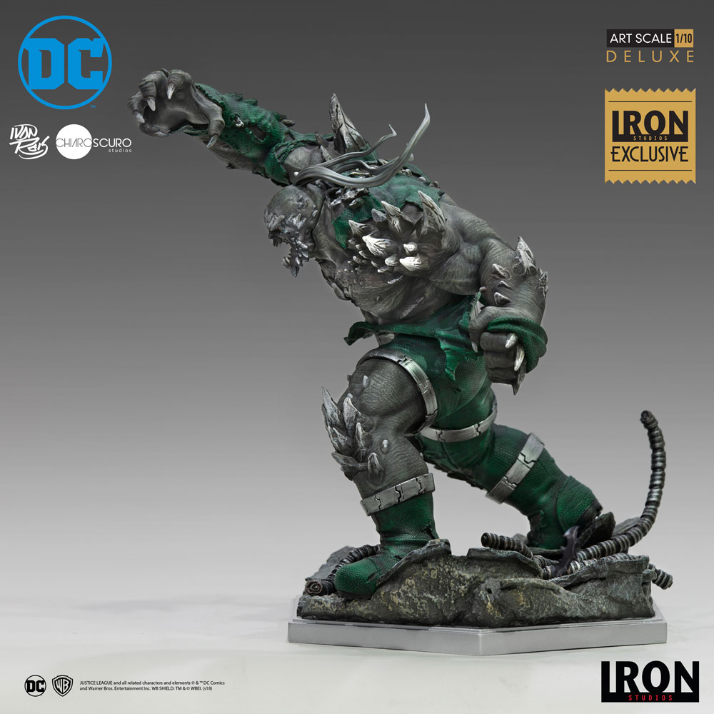 Doomsday Deluxe Art Scale Statue From Iron Studios Sideshow