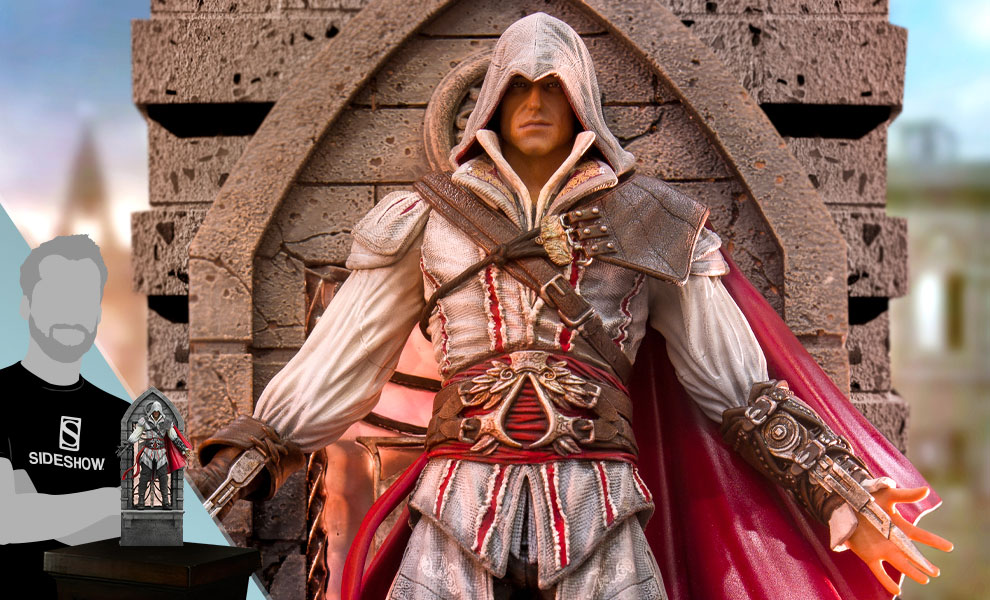Gallery Feature Image of Ezio Auditore (Deluxe) 1:10 Scale Statue - Click to open image gallery