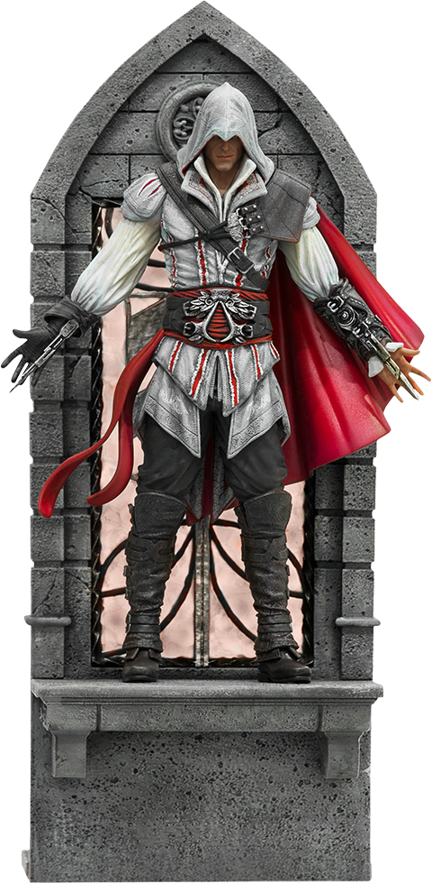 Ezio Auditore Deluxe Statue By Iron Studios Sideshow Collectibles