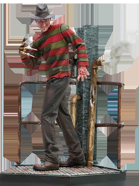Iron Studios Freddy Krueger Deluxe Statue