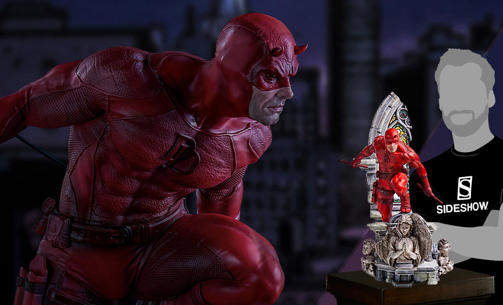 Gallery Feature Image of Daredevil Statue - Click to open image gallery