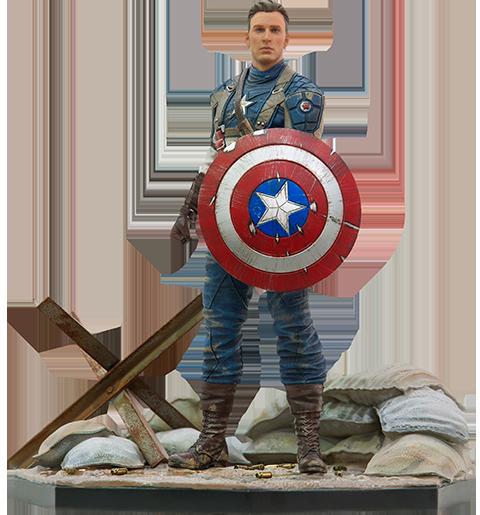 Iron Studios Captain America: The First Avenger Statue