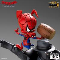Gallery Image of Noir and Spider-Ham 1:10 Scale Statue