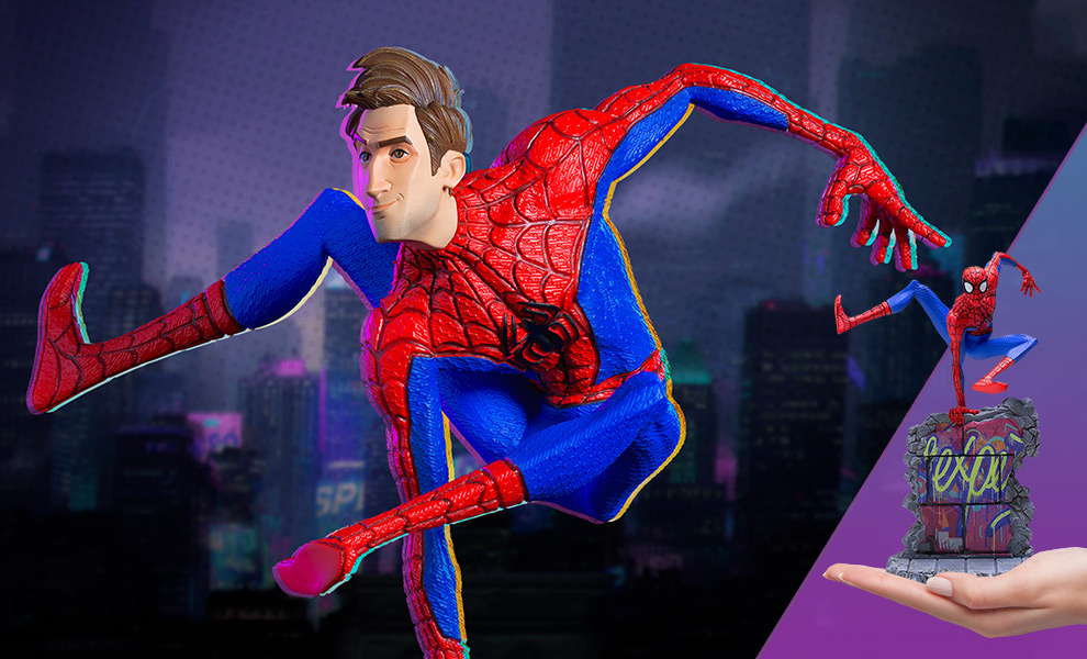 Gallery Feature Image of Spider-Man (Peter B. Parker) 1:10 Scale Statue - Click to open image gallery