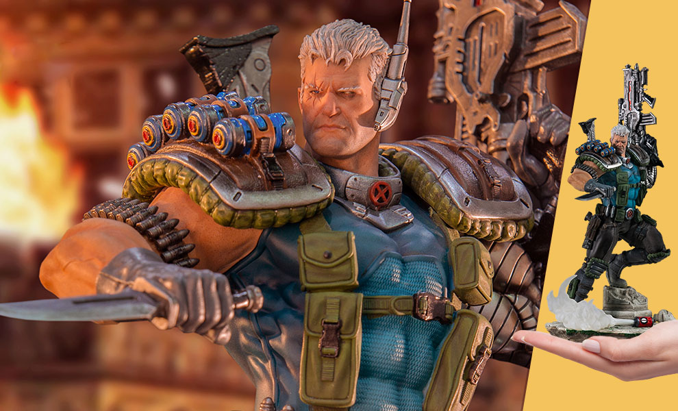 Gallery Feature Image of Cable 1:10 Scale Statue - Click to open image gallery