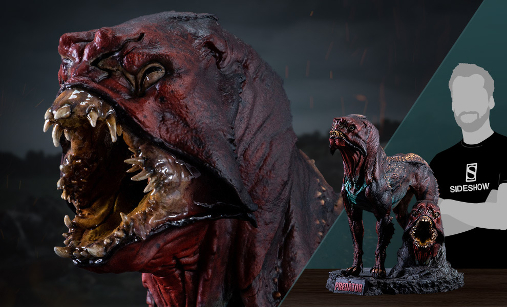 Gallery Feature Image of Predator Hound Maquette - Click to open image gallery