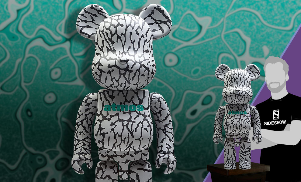 Gallery Feature Image of Be@rbrick x atmos x ELEPHANT 1000% Figure - Click to open image gallery