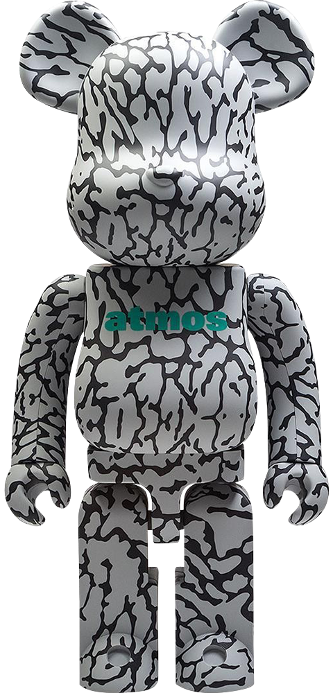 Medicom Toy Be@rbrick x atmos x ELEPHANT 1000% Figure