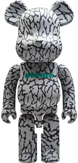 Be@rbrick x atmos x ELEPHANT 1000% Figure