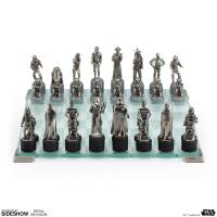 Gallery Image of Star Wars Classic Chess Set Pewter Collectible