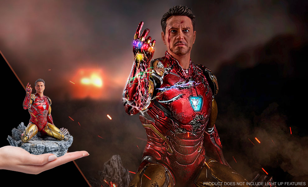 Gallery Feature Image of I Am Iron Man 1:10 Scale Statue - Click to open image gallery