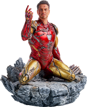 I Am Iron Man 1:10 Scale Statue