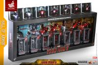 Gallery Image of Iron Man Hall of Armor Miniature Collectible Set