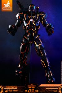 Gallery Image of Neon Tech War Machine Sixth Scale Figure
