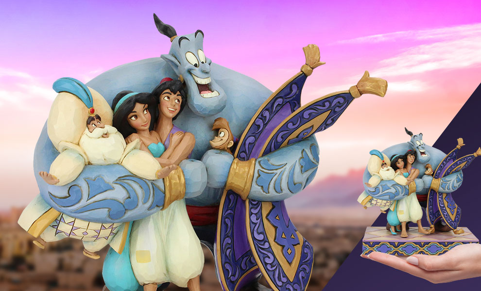 Gallery Feature Image of Aladdin Group Hug Figurine - Click to open image gallery