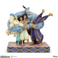 Gallery Image of Aladdin Group Hug Figurine