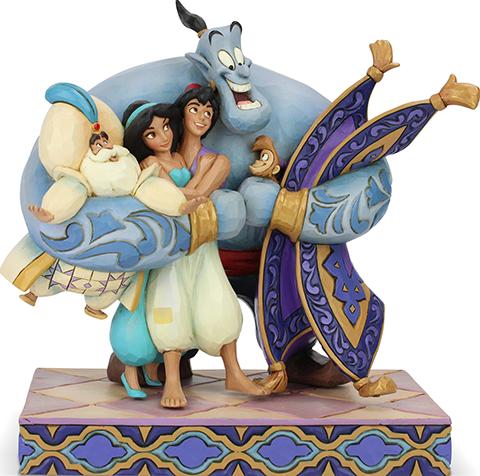 Enesco, LLC Aladdin Group Hug Figurine