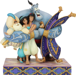 Aladdin Group Hug Figurine