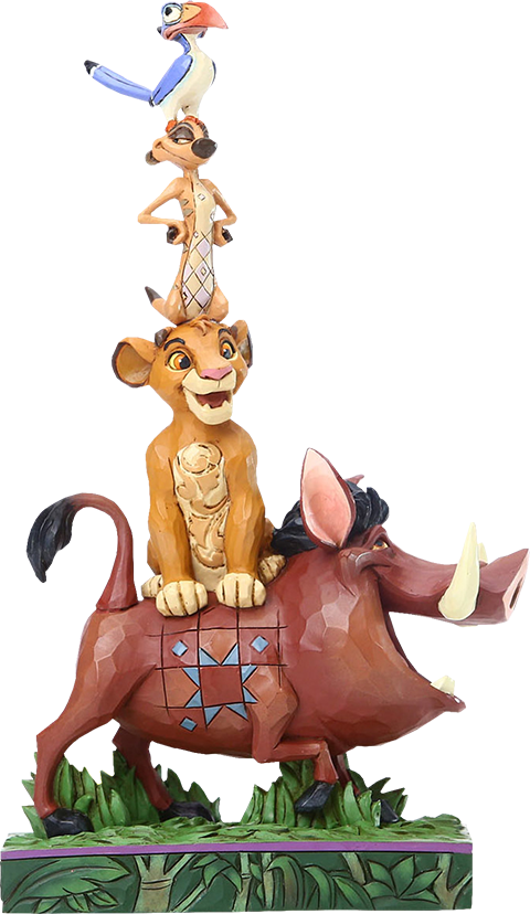Enesco, LLC Lion King Stacked Characters Figurine