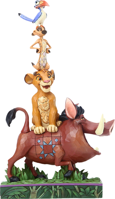 Lion King Stacked Characters Figurine