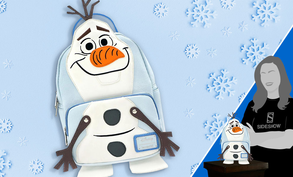 Gallery Feature Image of Olaf Mini Backpack Apparel - Click to open image gallery