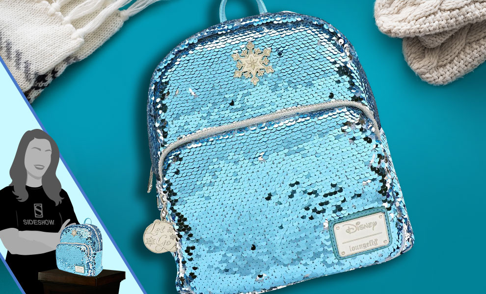 Gallery Feature Image of Elsa Mini Backpack Apparel - Click to open image gallery