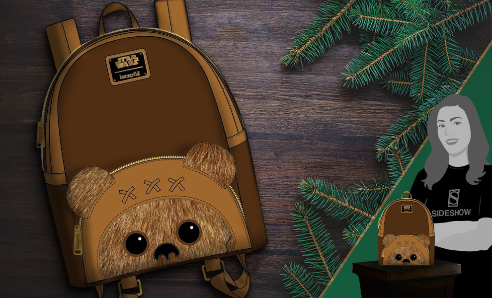 Gallery Feature Image of Ewok Mini Backpack Apparel - Click to open image gallery