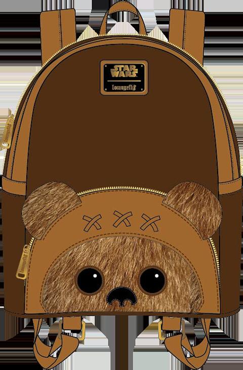 Loungefly Ewok Mini Backpack Apparel