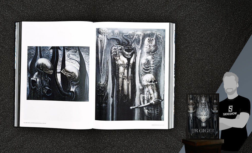 Gallery Feature Image of H.R. Giger Collector's Edition Book - Click to open image gallery