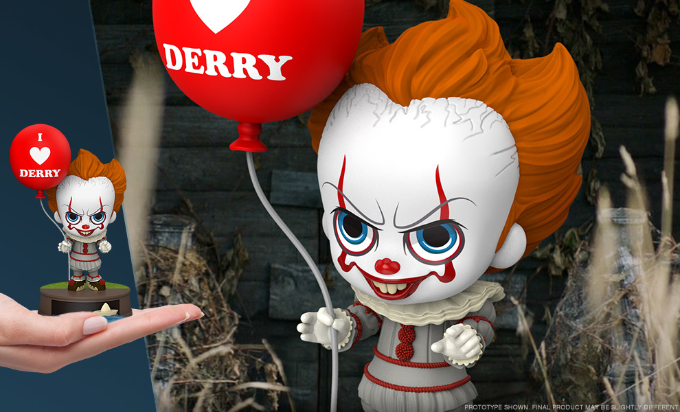 Gallery Feature Image of Pennywise with Balloon Collectible Figure - Click to open image gallery