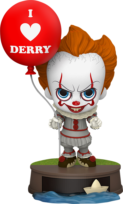 Hot Toys Pennywise with Balloon Collectible Figure