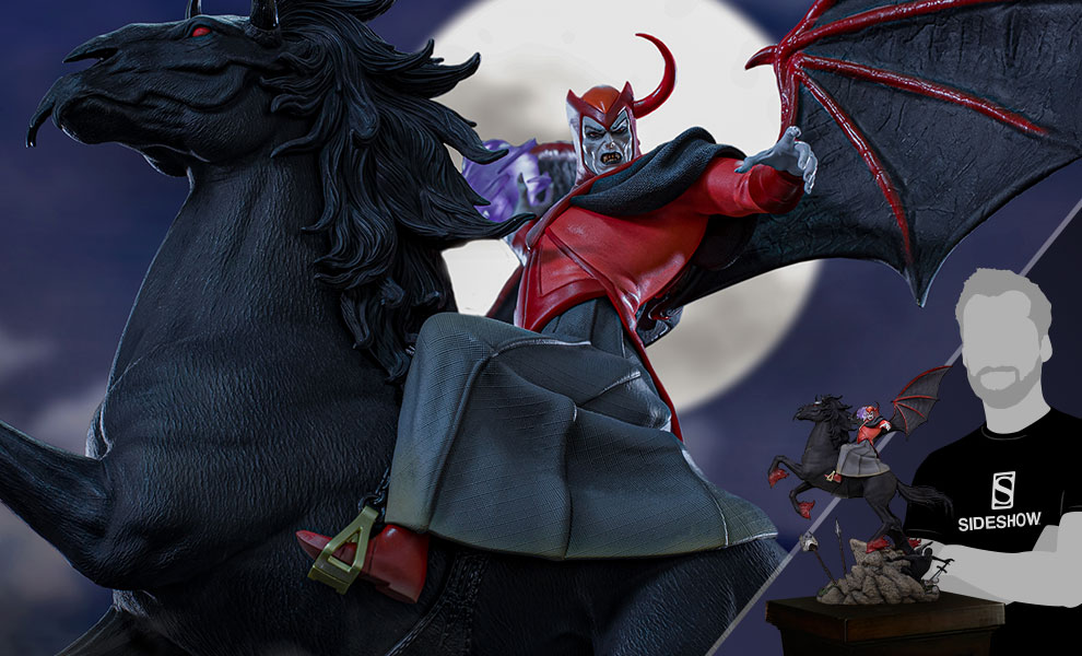 Gallery Feature Image of Venger with Nightmare & Shadow Demon (Deluxe) 1:10 Scale Statue - Click to open image gallery