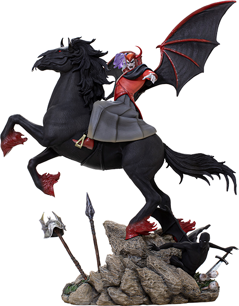 Iron Studios Venger with Nightmare & Shadow Demon (Deluxe) Statue