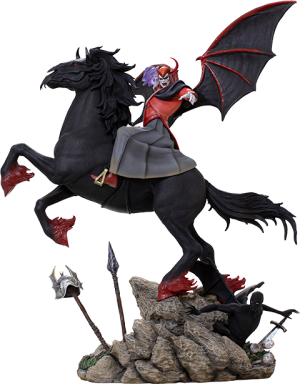 Venger with Nightmare & Shadow Demon (Deluxe) 1:10 Scale Statue
